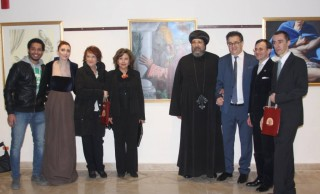 "The opening of International Italian Artist ""Maurizio Meldolesi"" Exhibition at COCC"