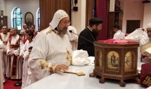 H.G. Anba Ermia presides over the Holy Mass at St. Mina Church, Holmdel – New Jersey