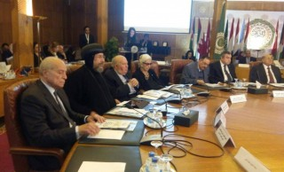 """HG Bishop Ermia participates in """"The Problems of Legal Awareness for Arab Citizens"""" forum at the Arab League headquarter"""