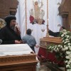 HG Anba Ermia heads the funeral service of Mrs. Claudia Wahba Hanna