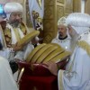 Their Eminences Anba Ermia and Anba Aghathon hold mass service at St. George Cathedral – Maghagha