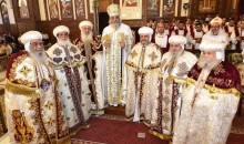 His Grace Bishop Ermia Expresses Congratulations to the Father Bishops for being promoted as Metropolitans