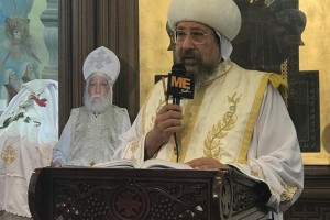 His Grace Bishop Ermia's Word in the Fortieth Day Mass for the Late Archpriest Boles Abdel Massih Tawadros, the Priest of St. George Church, Manshiyat al Sadr