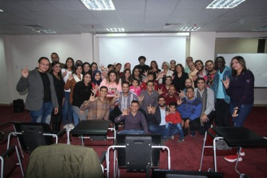 The Ceremony of Distributing Certificates to the Participants in the 2019 Egyptian Sign Language Course at the Coptic Orthodox Cultural Center
