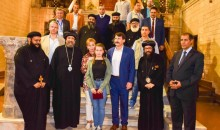 The President of the Republic of Hungary and his Spouse visit the Hanging Church accompanied by HG Bishop Ermia and HG Bishop Yulius