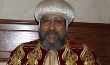 الأنبا إرميا يشارك فى تمثيلية عيد القيامة المجيد ٢٠١٥م