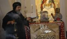 الأنبا إرميا يرأس عشية عيد نياحة البابا أثناسيوس الرسولي