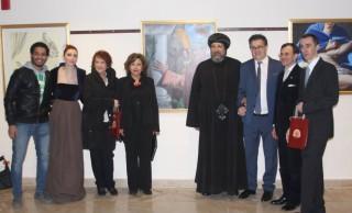 "The opening of International Italian Artist ""Maurizio Meldolesi"" Exhibition at COCC"