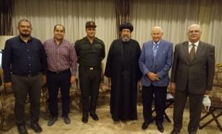 نيافة الأنبا إرميا يستقبل وفدًا من شركة رامك مصر لمصاعد السيارات الذكية