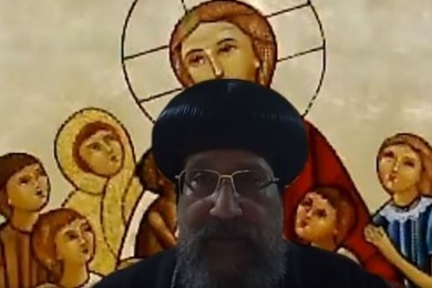 نيافة الأنبا إرميا يلقى محاضرة «التقليد» لأسرة القديس بنتينوس لأساتذة الجامعات من خلال برنامج Zoom
