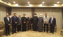نيافة الأنبا إرميا يلتقي بالأمين العام لبيت العائلة المصرية ومقرري اللجان