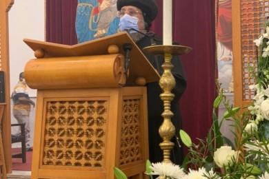 «العذراء والإحتمال» عظة نيافة الأنبا إرميا بكنيسة العذراء والملاك ميخائيل بالجونة