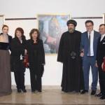 افتتاح المعرض للفنان الايطالى