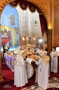 قداس اليوبيل الذهبي لنياحة البابا كيرلس السادس