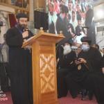 نيافة الأنبا إرميا يشارك في عشية تجليس نيافة الأنبا فيلوباتير 14