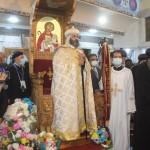 نيافة الأنبا إرميا يشارك في عشية تجليس نيافة الأنبا فيلوباتير 16