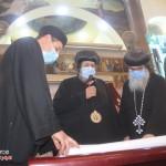 نيافة الأنبا إرميا يشارك في عشية تجليس نيافة الأنبا فيلوباتير 2