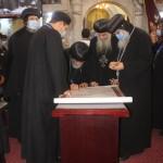 نيافة الأنبا إرميا يشارك في عشية تجليس نيافة الأنبا فيلوباتير 23