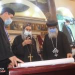 نيافة الأنبا إرميا يشارك في عشية تجليس نيافة الأنبا فيلوباتير 24