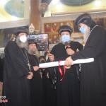 نيافة الأنبا إرميا يشارك في عشية تجليس نيافة الأنبا فيلوباتير 25