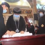 نيافة الأنبا إرميا يشارك في عشية تجليس نيافة الأنبا فيلوباتير 28